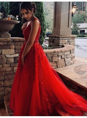 modern abendkleider lang rot  spitze abendkleid tüllabendkleiderkleider für besondere anlässe