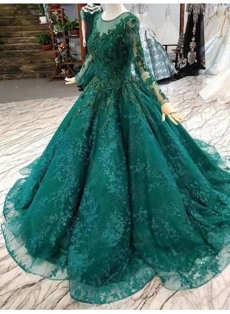 luxus abendkleider mit Ärmel  grüne abendmoden onlineabendkleiderkleider für besondere