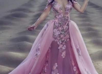Modern Abendkleider Mit Ärmel | Abiballkleider Lang Spitze_Abendkleider_Kleider für Besondere Anlässe_Brautkleider,Abiballkleider,Abendkleider