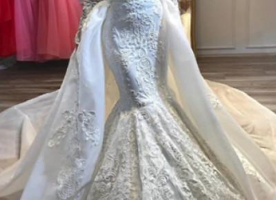 Luxus Hochzeitskleider A linie Spitze | Brautmoden mit Ärmel_Brautkleider Mit Ärmel_Brautkleider_Brautkleider,Abiballkleider,Abendkleider