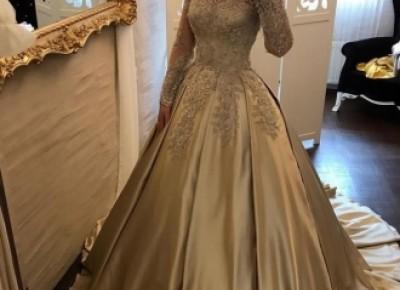 Golden Brautkleider