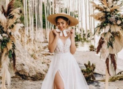 Wunderschone Brautkleider mit Spitze | Tull Schlichte Hochzeitskleider | Babyonlinedress.de
