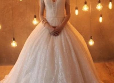 Designer Brautkleider Prinzessin | Hochzeitskleider Glitzer Online | Babyonlinedress.de