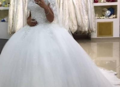 Modern Brautkleider Mit Spitze | Prinzessin Hochzeitskleider Online_Brautkleider 2019_Brautkleider_Brautkleider,Abiballkleider,Abendkleider