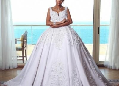Luxus Weiße Brautkleider Mit Spitze Prinzessin Hochzeitskleider Online_A-Linie Brautkleider_Brautkleider_Brautkleider,Abiballkleider,Abendkleider