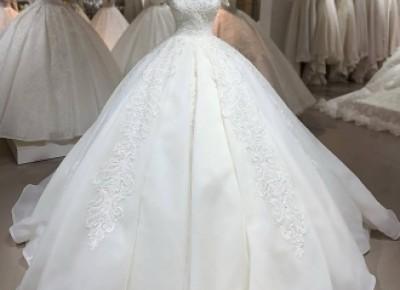 Designer Brautkleider Organza | A Linie Hochzeitskleider Mit Spitze_A-Linie Brautkleider_Brautkleider_Brautkleider,Abiballkleider,Abendkleider