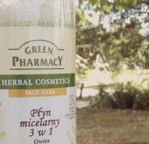 GydziulaBeauty : Coś z natury ! Green Pharmancy Płyn Micelarny 3 w 1 Owies