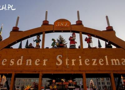 Jarmark Bożonarodzeniowy w Dreźnie (Dresdner Striezelmarkt)