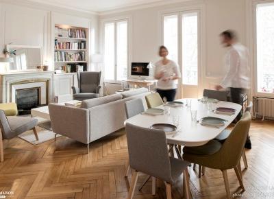 Dream House: Stylowe francuskie mieszkanie