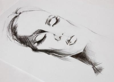 My little art: sketch woman | DO YOU LIKE MY ART?