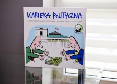 Recenzja gry planszowej Kariera polityczna