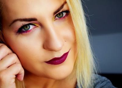 Kolorowy makijaż oczu z Freedom Makeup