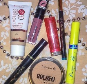 Zakosmetykowana: Kosmetyki godne polecenia - makijaż