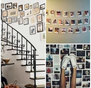 photos wall inspirations