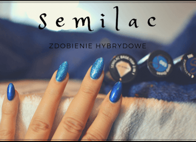 Zdobienie hybrydowe SEMILAC - blue | Bette Fashion