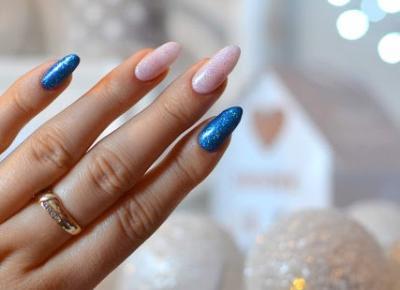 Paznokcie hybrydowe - Błyszczące zdobienie - SEMILAC & NEONAIL | Bette Fashion