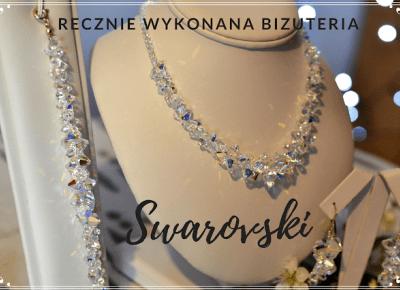 Ręcznie robiona srebrna biżuteria - kryształy Swarovski  | Bette Fashion