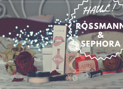 MAKE UP HAUL! - Sephora, Rossmann POLECANE PRODUKTY! | Bette Fashion