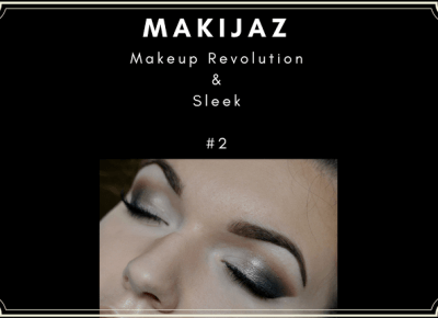 MAKIJAŻ - brąz i złoto - Makeup Revolution & Sleek | Bette Fashion