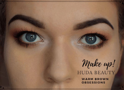 MAKIJAŻ Świąteczny - HUDA BEAUTY WARM BROWN OBSESSIONS | Bette Fashion