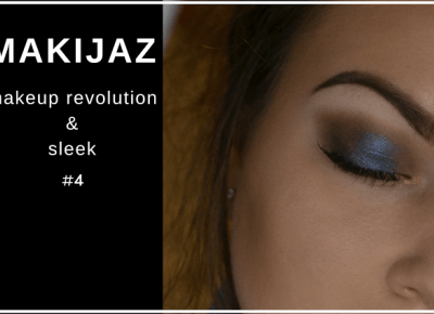 Makijaż - brąz i granat - Makeup Revolution & Sleek | Bette Fashion
