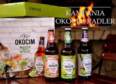 Kampania piwa Okocim Radler - Streetcom | Bette Fashion