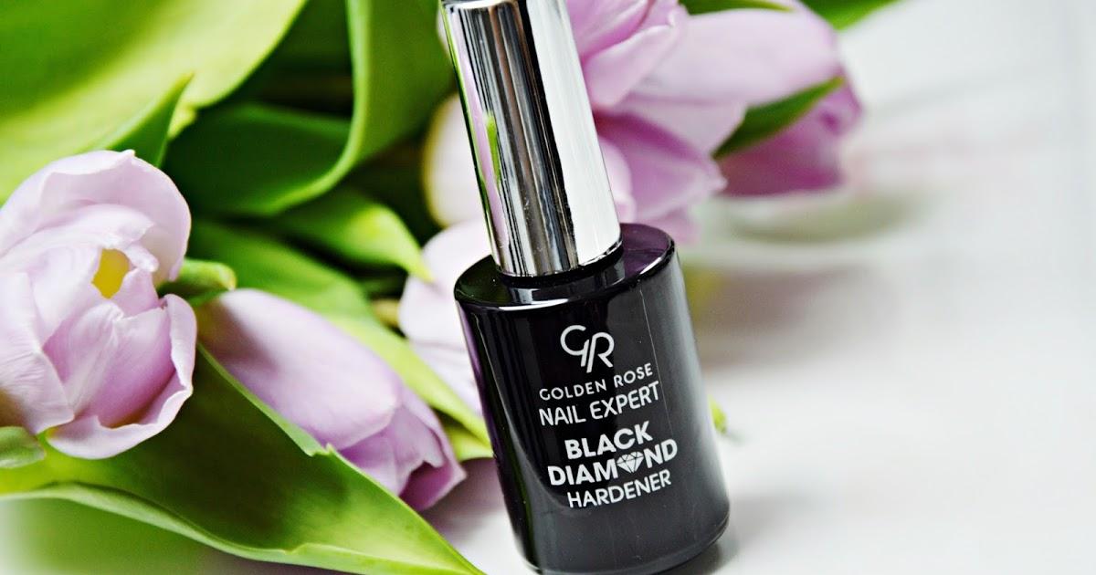 Ana_Stazja: Zadbaj o swoje paznokcie na wiosnę ! :) - Odżywka Black Diamond Golden Rose