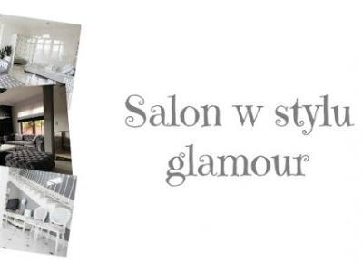 Salon w stylu glamour. | Moda , uroda , pasja ...