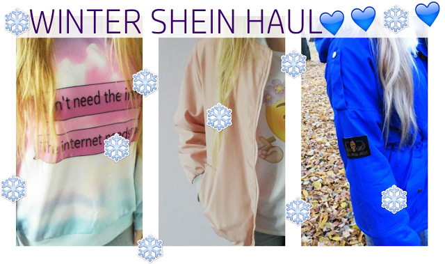 WINTER SHEIN HAUL