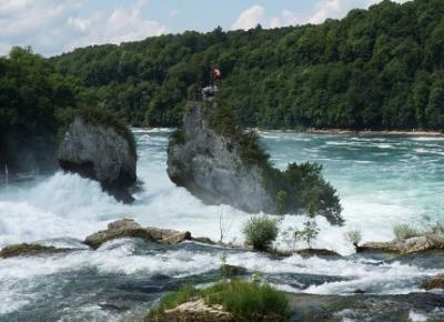 Rheinfall – Wodospad na Renie – Szwajcaria w podróży