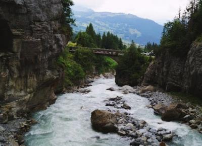 Gletscherschlucht, Szwajcaria