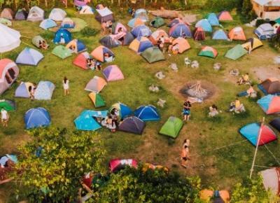 Kemping po szwajcarsku, czyli gdzie można spać pod gołym niebem? – Szwajcaria w podróży