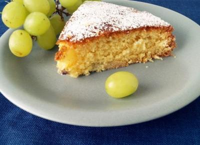 Dookola-swiata: Coś pysznego #29 - Ciasto z winogronami