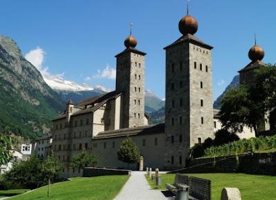 Dookola-swiata: Szwajcaria w podróży: Zamek Stockalper, Brigg