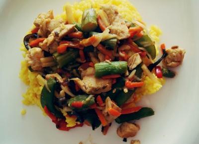 Dookola-swiata: Coś pysznego #38 - Prosty pomysł na azjatycką potrawkę