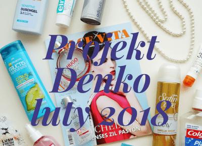Dookola-swiata: Projekt Denko - luty 2018: Testowanie Rituals i kilka niewypałów.