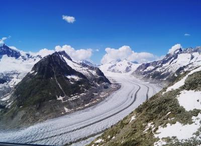 Aletschgletscher, Szwajcaria