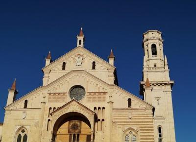 Dookola-swiata: Werony z podróży #8 - Duomo di Verona i wieczorny spacer.