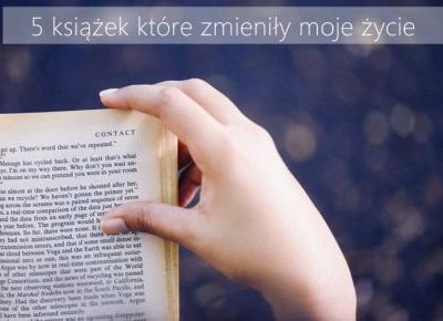 5 książek które zmieniają życie