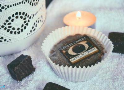 Dorota Pisze.pl: 7 powodów dla których kocham czekoladę. Zapach czekolady w Cappucino Truffle od Yankee Candle