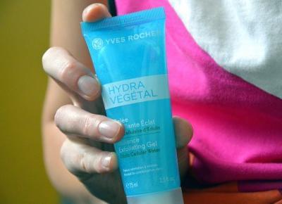 Dorota Pisze.pl: Peeling do twarzy Hydra Vegetal od Yves Rocher