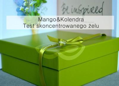 Dorota Pisze.pl: Yves Rocher. Test skoncentrowanego żelu pod prysznic Mango&Kolendra. Oraz jak zostałam ambasadorką!