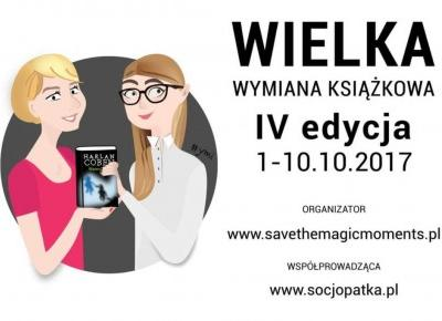 Dorota Pisze.pl: Wielka Wymiana Książkowa. Przeczytaj i podaj dalej. IV Edycja.