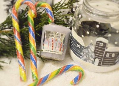 Dorota Pisze.pl: Świąteczny zapach Candy Cane Forest. Yankee Candle