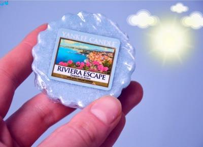 Dorota Pisze.pl: Słonczny zapach Riviera Escape. Yankee Candle