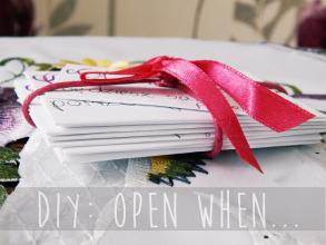 Be Different: DIY: OPEN, WHEN...