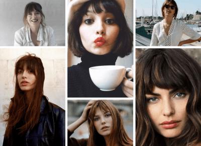 Grzywka a'la paryżanka | D&P Blog