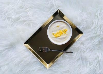 Wegański serek waniliowy z silken tofu - prosty przepis | D&P Blog