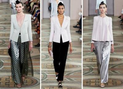 Armani Privé Fall 209 Couture - przegląd stylizacji | D&P Blog