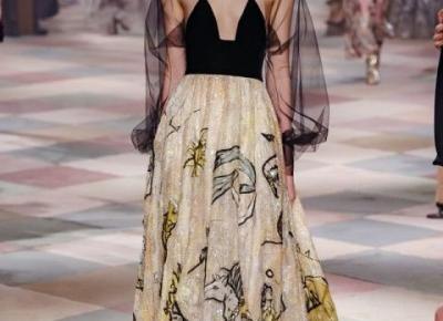 Christian Dior Spring 2019 Couture - przegląd stylizacji | D&P Blog